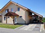 Pekný, 5 izb poschodový RD, novostavba, pozemok 643 m2, úžitková plocha 169 m2, Slovenský Grob - Malý Raj, Rubínová