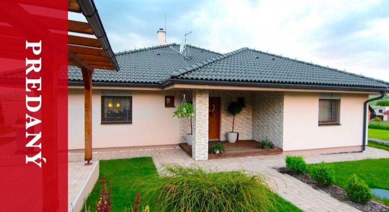 PREDANÝ: Predaj | Luxusný bungalov s inteligentnými technológiami | Turie | na 2600 m2 pozemku | kolaudovaný 2014