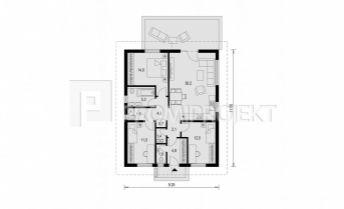 Ponúkame Vám na predaj 4 izbový rozostavaný tehlový rodinny dom v Malinove, Tri vody.