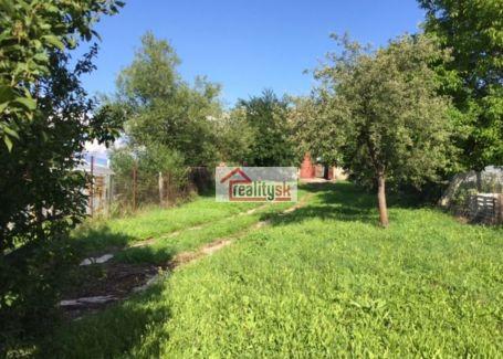 Pozemok predaj Zvolen-Môťová