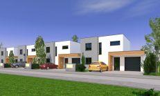PREDAJ - novostavba 4i rodiinného domu s garážou v Záblatí - DOM 06