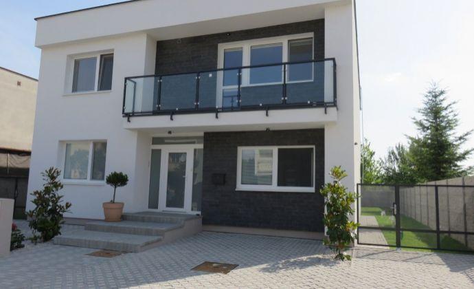 Best Real - 4 izbový moderný byt v bytovom dvojdome, záhrada, slnečný, priestranný