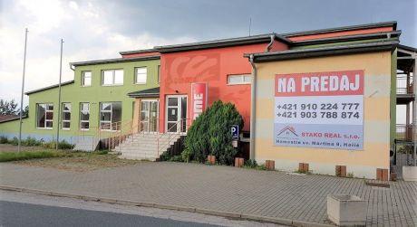Polyfunkčný objekt, kancelárie - obchod, Holíč