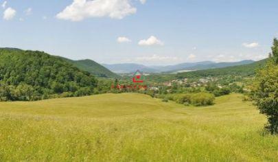 Rozľahlý pozemok  5196m2 v krásnej prírode, predaj, Rožňava, obec Drnava