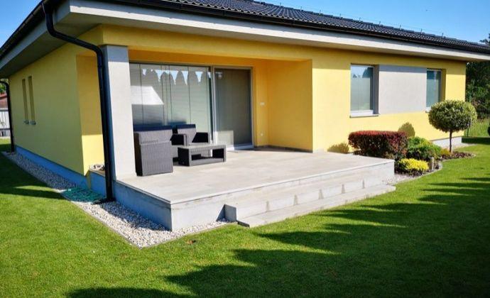 Novostavba kompletne zariadeného 4izb. bungalovu (ÚP 162 m2) na pozemku 632 m2, Most pri Bratislave