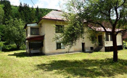 Dom v podhorskom prostredí - Nízke Tatry