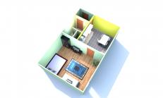 1 izbový byt na predaj, Nové Zámky