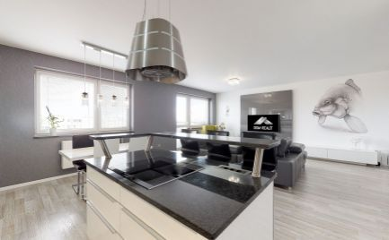 DOM-REALÍT ponúka, zariadený krásny 4izb byt