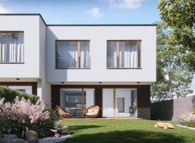 Moderné 4-izbové vilové dvojdomy s atypickými prvkami v interiéri