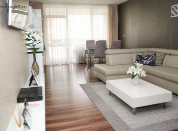 REZERVOVANÝ !!! Novostavba 4 izb. s terasou a balkónom s 2 park. garáž. státiami - Pezinok