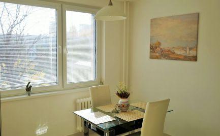PRENÁJOM 3 izbový slnečný byt Bratislava Ružinov Babuškova EXPIS REAL