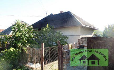 Zdravý RD, 70 m2, pôvodný stav, 7 km od termálneho kúpaliska Podhájska