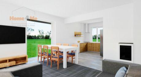 Home4me- Predaj 4 izbový dom v Dvojdome, hotový v štandarde,  Most pri Bratislave