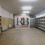 Menší vykurovaný sklad na prenájom , 77 m2