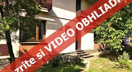 Najlepšia INVESTÍCIA - rodinný dom v bratislavskom Lamači pre väčšiu rodinu, 2 rodiny alebo na bývanie i podnikanie