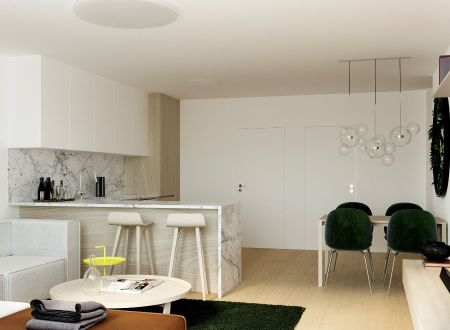 AKCIA ! Novostavba 3 izb. byt /VIZUALIZÁCIA BYTU, A1, 75,32 m2 s terasou a balkónom/ centrum Piešťany