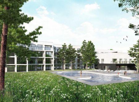 Nový 2 izbový apartmán /jazero Sĺňava/ Lodenica Piešťany