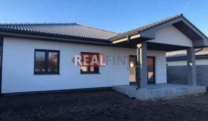 REALFINN Predaj -  novostavba 4 izbový rodinný dom s garážou Nové Zámky