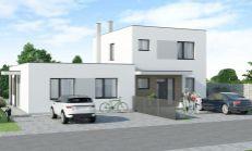 ASTER PREDAJ: 4 izbový rodinný dom (bungalov) - časť dvojdomu v Hamuliakove