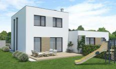 ASTER PREDAJ: 4 izbový rodinný dom (mezonet) - časť dvojdomu v Hamuliakove