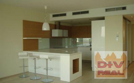 D+V real ponúka na prenájom: 3 izbový byt, Dvořákovo nábrežie, River Park, Bratislava I, Staré Mesto, zariadený, parkovanie, terasa, výhľad na Dunaj