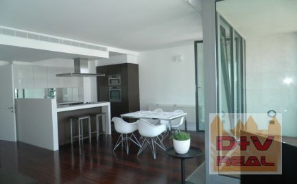D+V real ponúka na prenájom: 3 izbový byt, Pribinova ulica, Eurovea, zariadený, parkovanie