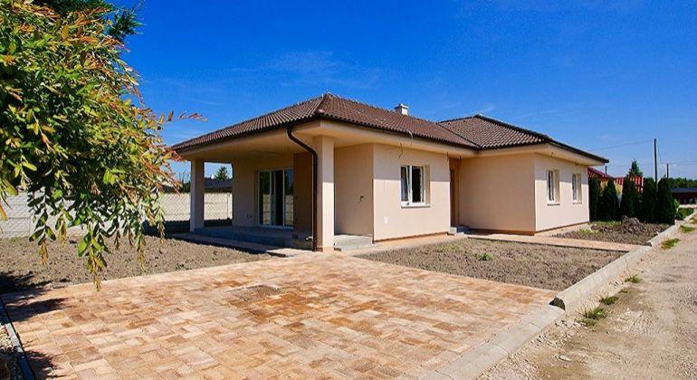 Pred kolaudáciou, nový 4 izb. rodinný dom na kľúč v Michal na Ostrove