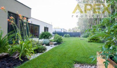 Exkluzívne v APEX reality nadštandardná novostavba RD s krásnym výhľadom pri parku Kamanáč v Trnave