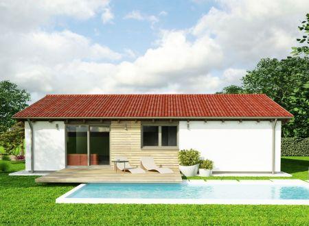 Stavebný pozemok 770 m2, všetky IS v obci Ivanovce / 76 € za 1 m2
