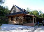 Novostavba dreveného zrubu – Zákopčie
