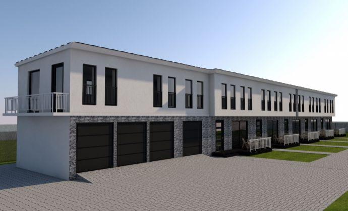 NOVÝ PROJEKT radových RD - bezkonkurenčná cena, bohatý štandard, terasa, trávnik v cene