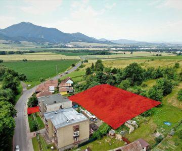 Väčší stavebný pozemok na predaj v obci Beňadiková