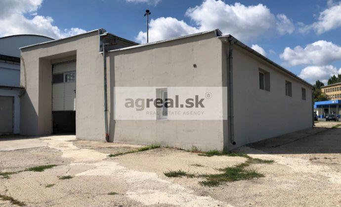 Autodielňa, STK, výrobný priestor 320 m2 so sociálnym zariadením a odstavnou plochou, Trnávka, Rožňavská ulica