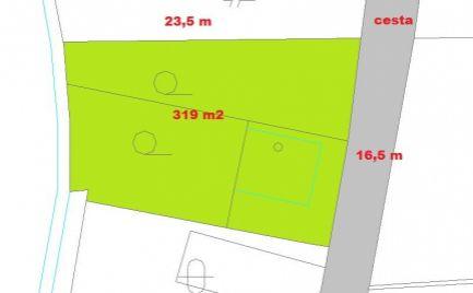 Stavebný pozemok 319 m2, Banská Bystrica – cena 49 000€