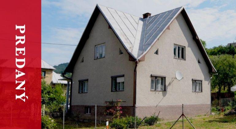 Predaj | RD | Veľké Rovné | pozemok 619 m2 | po čiastočnej rekonštrukcii