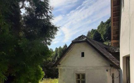 Menší rodinný dom s pozemkom