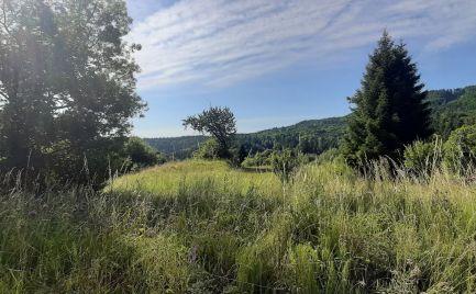 Pozemok na predaj s krásnym výhľadom v obci Králiky