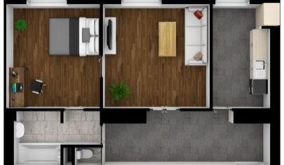 2 izbový byt na predaj Bratislava - Ružinov