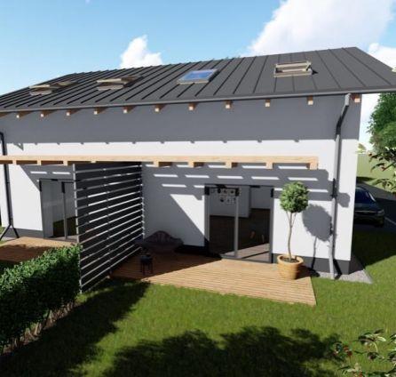 StarBrokers – PREDAJ 4-izb. rodinný dvojdom - jedna bytová jednotka má 120 m2 na 235 m2 - obec Láb