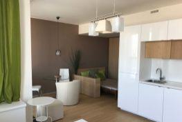 Prenájom - krásny, zariadený 1 izbový byt v PANORAMA CITY, výhľad na mesto, parkovanie v cene, Bratislava-Staré Mesto, Landererova