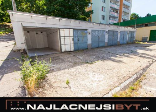 Najlacnejsibyt.sk: BAIV - Karlova Ves, Samostatná garáž 16,8 m2, Kuklovská ul.