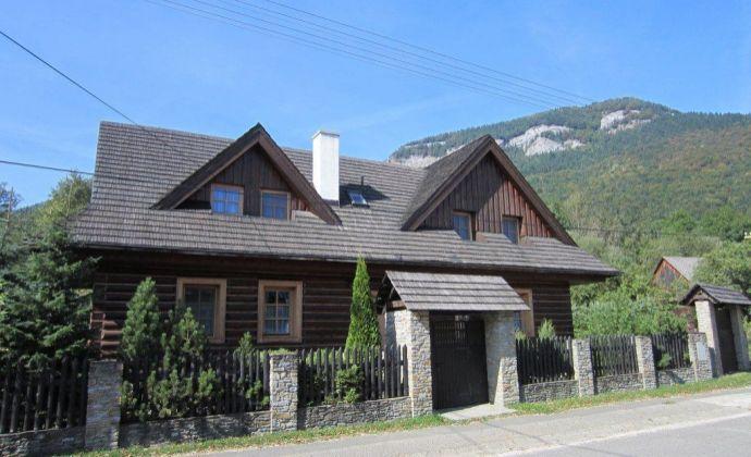 Luxusná 7-izbová rodinná rekreačná chata na Liptove - Kvačianska dolina, pozemok 900 m²