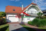 Na prenájom klimatizovaný 4 a 1/2 izbový RODINNÝ DOM S GARÁŽOU, novostavba,  4X parking, 12min. BIS