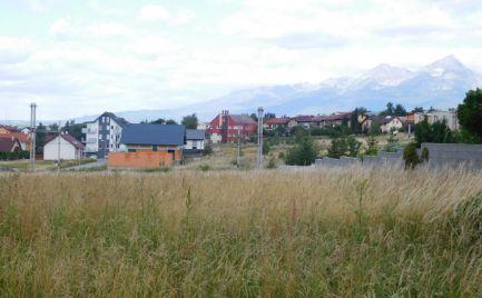 Predaj - stavebný pozemok v Poprade časť Spišská Sobota