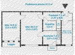 2,5 izb. byt, Komárnická ul., zrekonštr. podľa Vašich predstáv