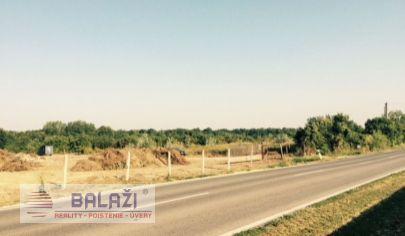 Vozokany pri Galante pozemok 110578 m2 vhodný na podnikanie