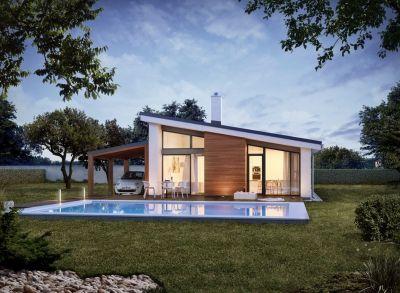 Ponúkame na predaj NOVOSTAVBU Rodinného domu STUPAVA - 4 izbový Rodinný dom.