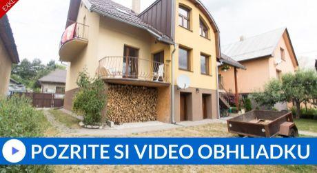 EXKLUZÍVNE Rodinný dom (190m2) s flexibilným využitím - Tvrdošín