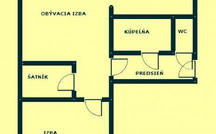 VLČIE HRDLO – 2i BYT v TEHLOVOM DOME s komorou a pivnicou v RUŽINOVE