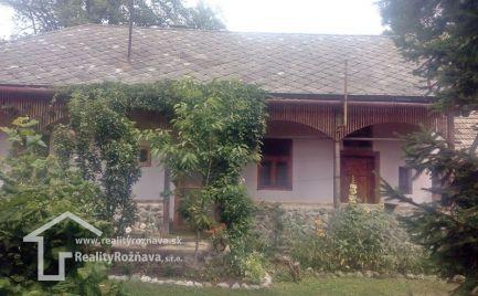 Rodinný dom Kováčová